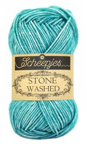 Scheepjes Stonewashed Yarn 815 Green Agate