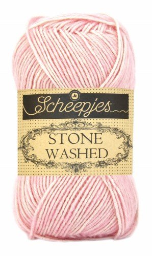Scheepjes Stonewashed Yarn 820 Rose Quartz