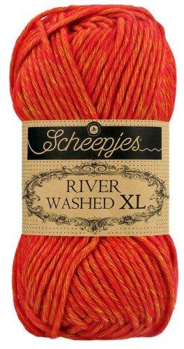 Scheepjes River Washed XL Aran Yarn 50g 974 Avon
