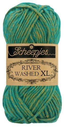 Scheepjes River Washed XL Aran Yarn 50g 976 Tiber