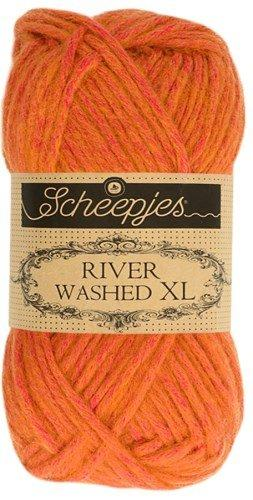 Scheepjes River Washed XL Aran Yarn 50g 984 Nile