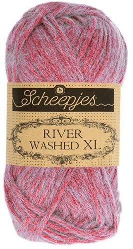 Scheepjes River Washed XL Aran Yarn 50g 985 Ganges