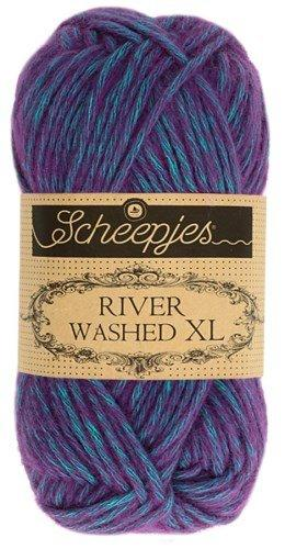 Scheepjes River Washed XL Aran Yarn 50g 989 Yarra