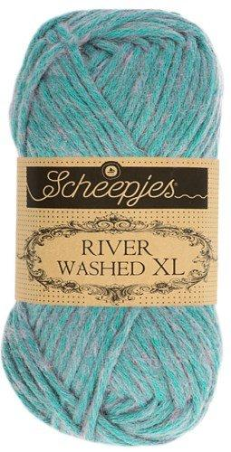 Scheepjes River Washed XL Aran Yarn 50g 990 Wheaton