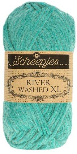 Scheepjes River Washed XL Aran Yarn 50g 992 Rhine