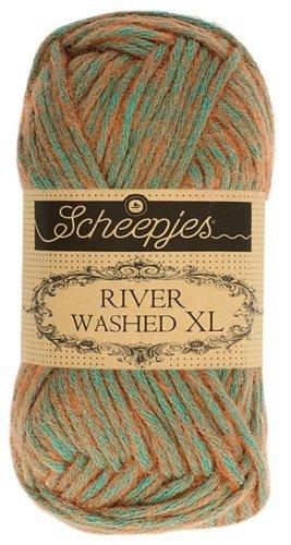 Scheepjes River Washed XL Aran Yarn 50g 993 Severn