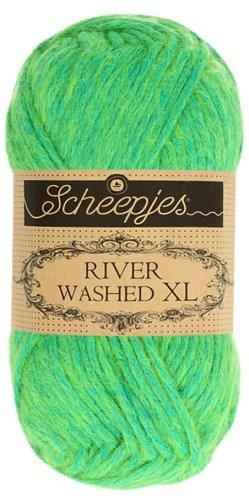 Scheepjes River Washed XL Aran Yarn 50g 994 Congo