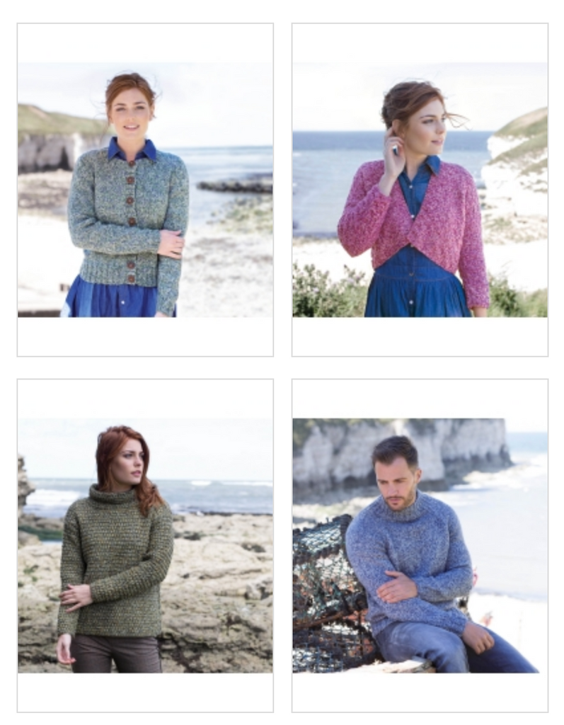 WYS The Croft Shetland Tweed Aran Pattern Book