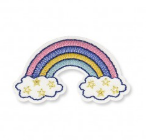 Iron On Rainbow Patch