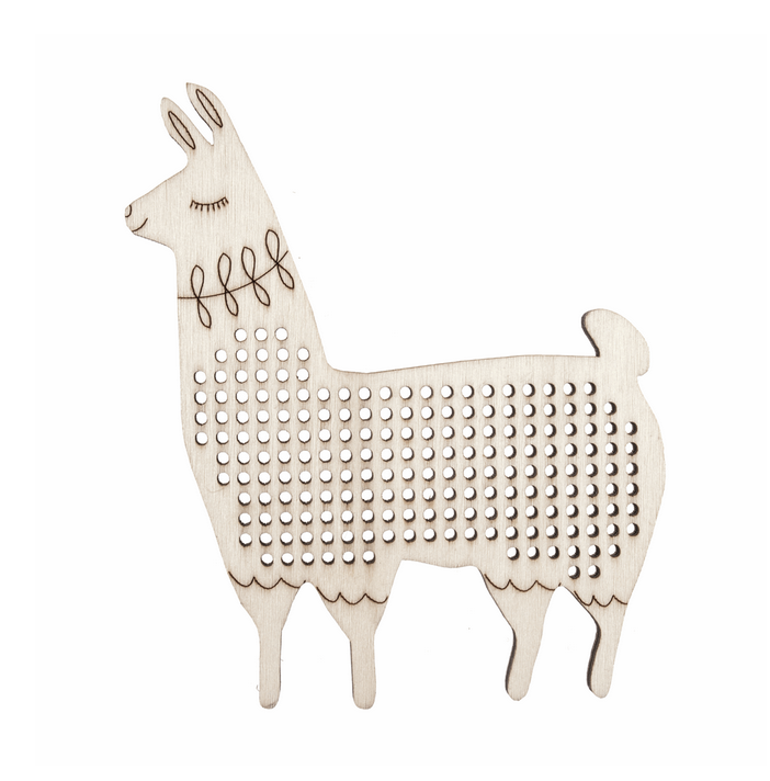 Cross Stitch Decoration: Llama