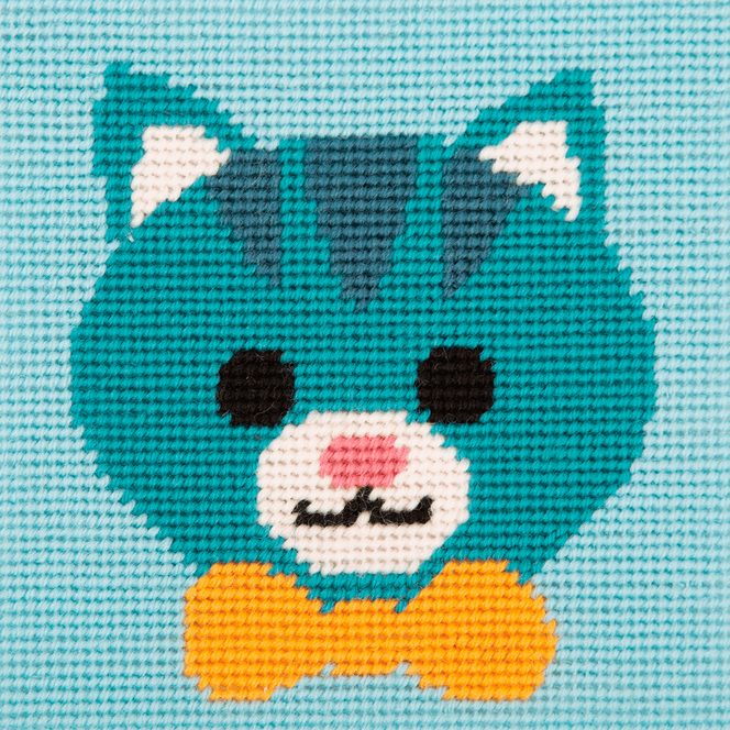 Stitch Kit: 1st Kit: Friendly Cat