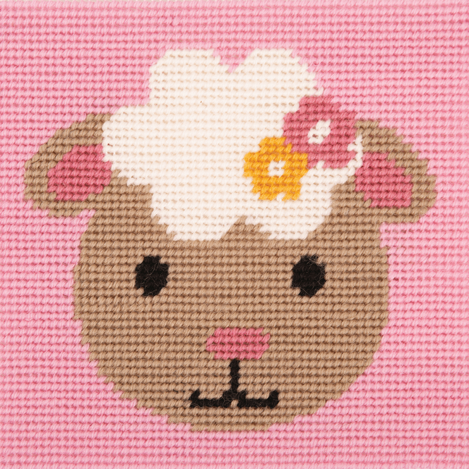 Stitch Kit: 1st Kit: Smiling Lamb