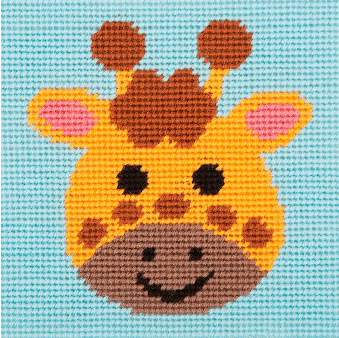 Stitch Kit: 1st Kit: Curious Giraffe