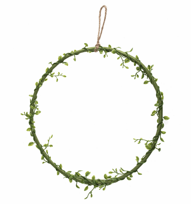 Wreath Base: Green Vine: 25.5cm / 10in