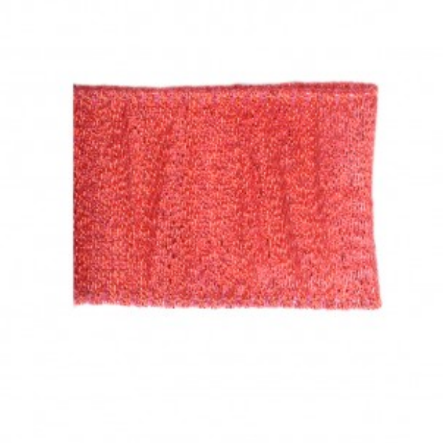 Wired Glitter Ribbon 38mm Red 008