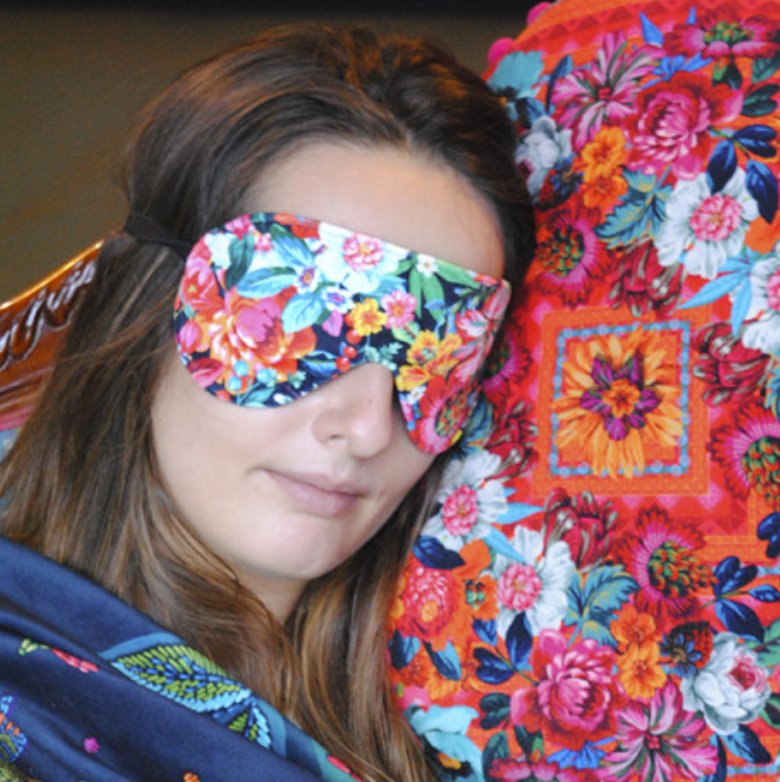 Velvet Eye Mask Sewing Kit : Tropical