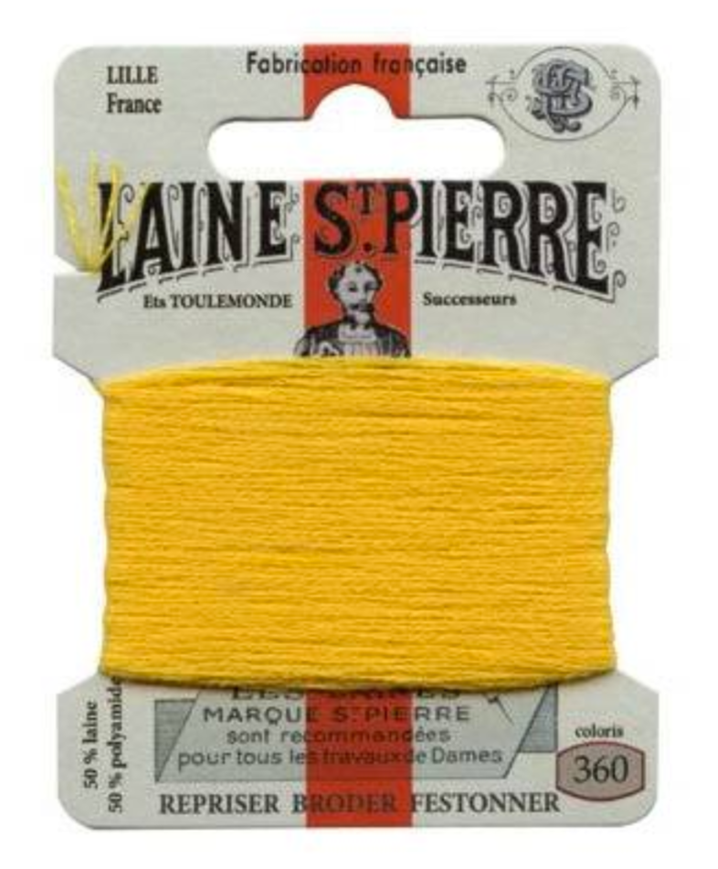 Laine St Pierre Darning Wool Gold 360