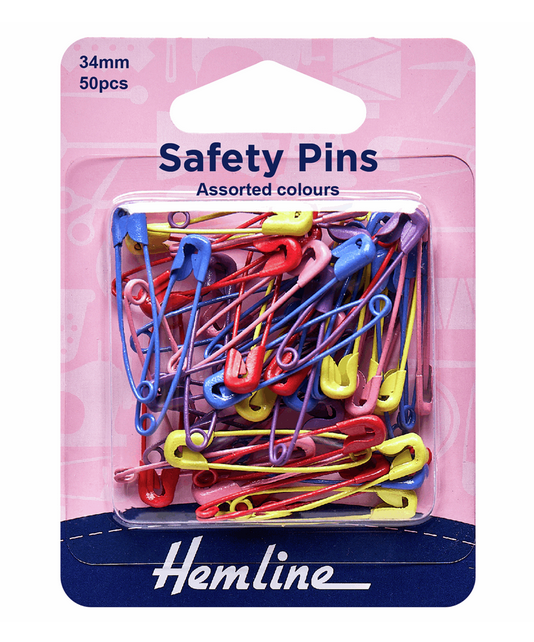 Coloured Safety Pins
