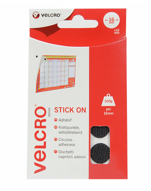 Velcro Coins to Stick
