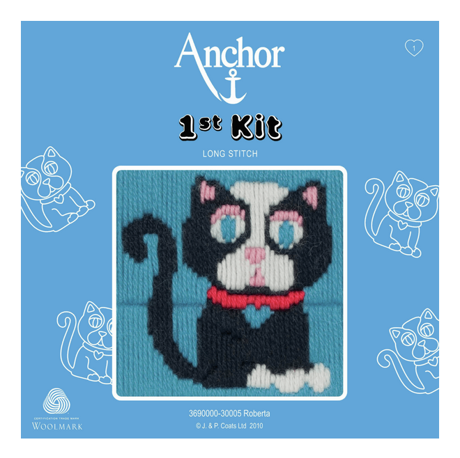 Long Stitch Kit: 1st Kit: Roberta