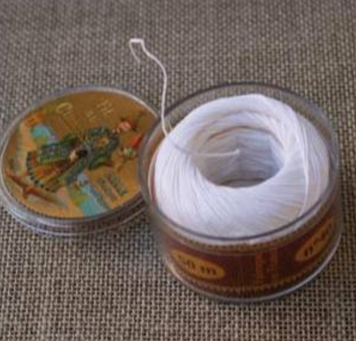Linen Thread White