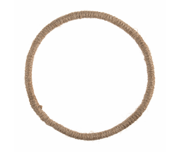 Wreath Base : Jute 14cm