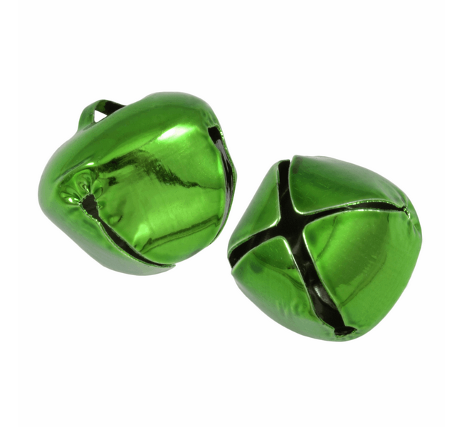 Giant Jingle Bells : Green Pack of 2