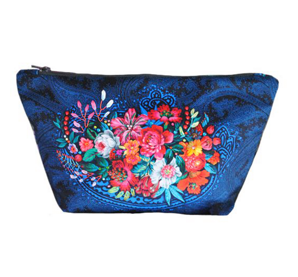 Velvet Pouch Sewing Kit : Cashmere