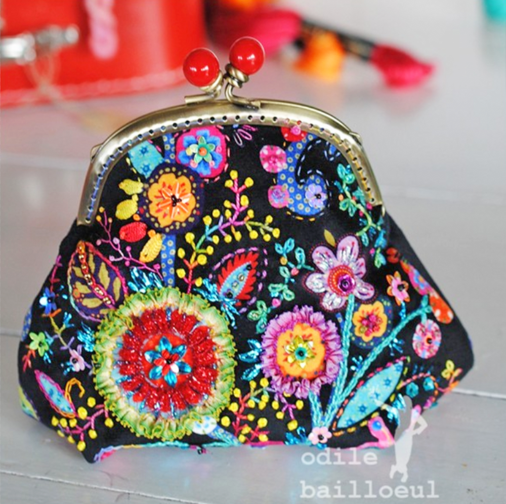 Velvet Purse Sewing Kit : Fleury