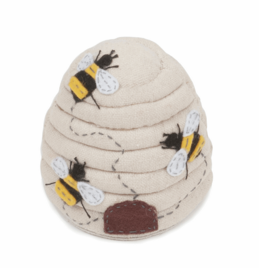 Bees and Hive Pincushion