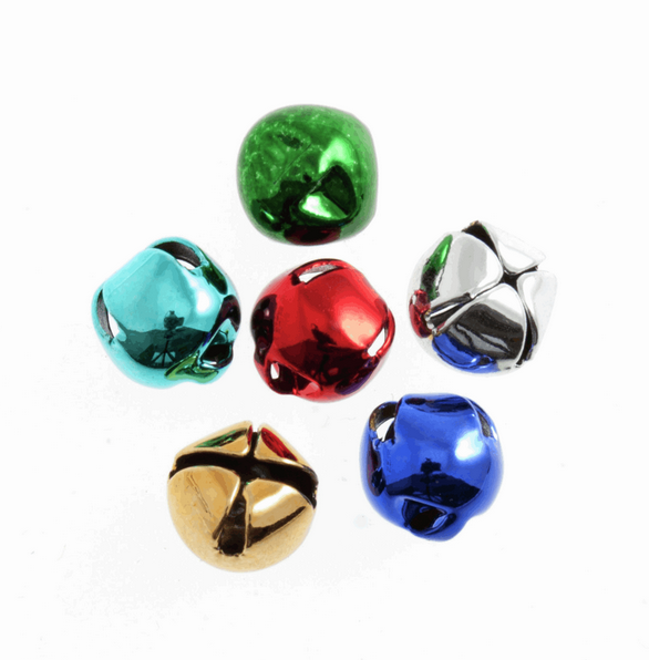 Jingle Bells Multi Coloured 6 pack : 8mm
