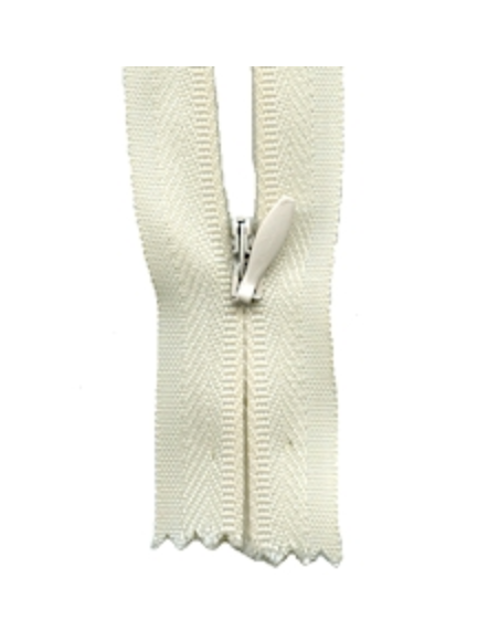 'Make A Zipper' Zip (Invisible Style) : Cream : per half metre