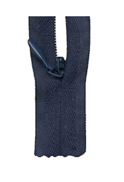 'Make A Zipper' Zip (Invisible Style) : Navy : per half metre