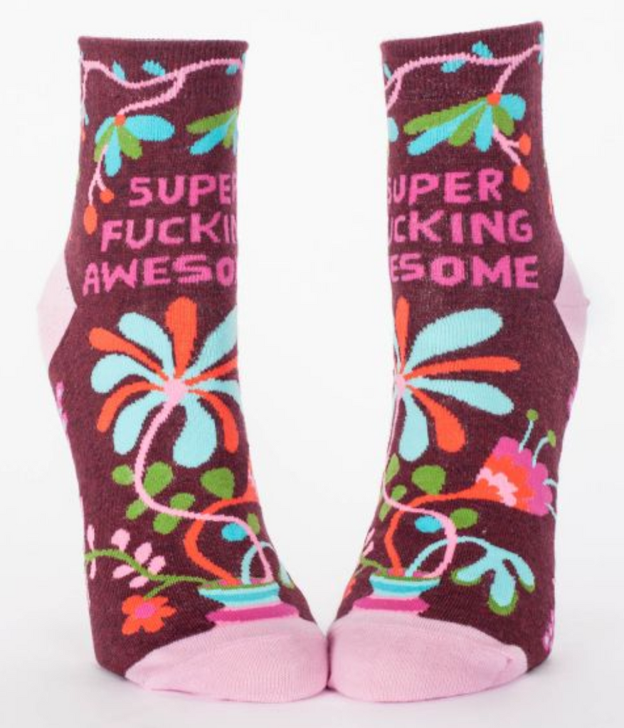 Super F*cking Awesome Ankle Socks