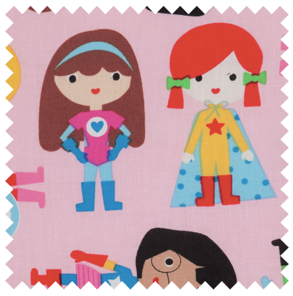 Sewing Box (M): Heart Shaped: Supergirls
