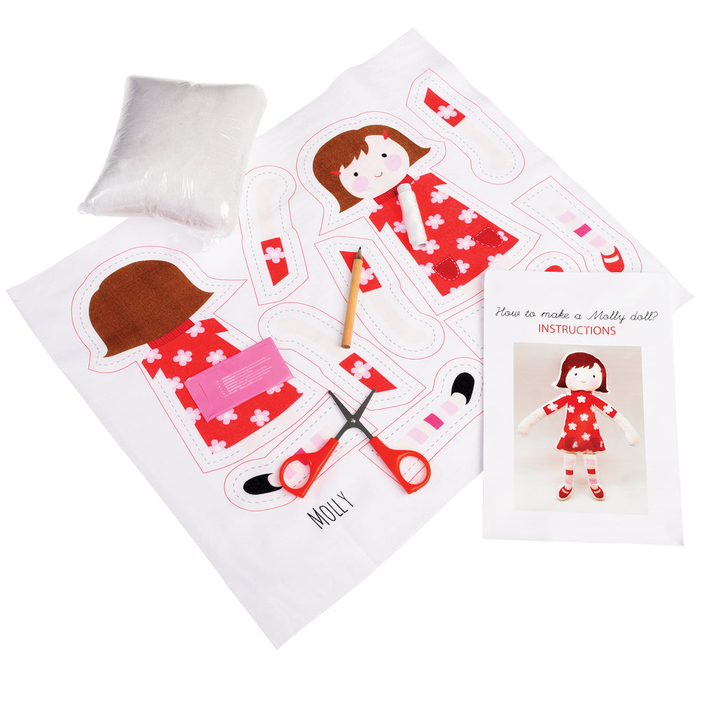 Sewing Kit : Sew Your Own Molly Doll