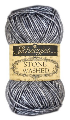 Scheepjes Stonewashed Yarn 802 Smokey Quartz