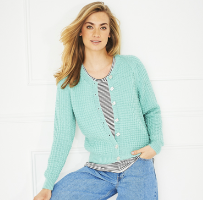Stylecraft Ladies Jumper & Cardi Pattern 9644