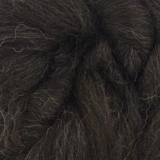 Black Shetland Wool tops for felting