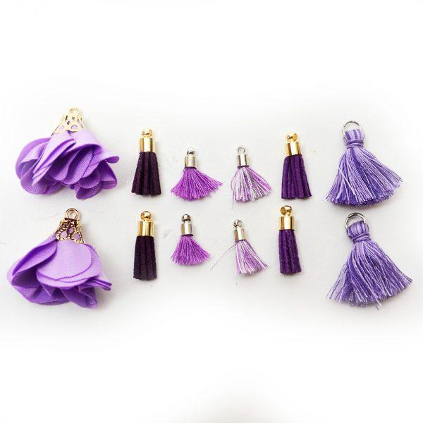 Tassel Assortment - Purple by Dress it Up