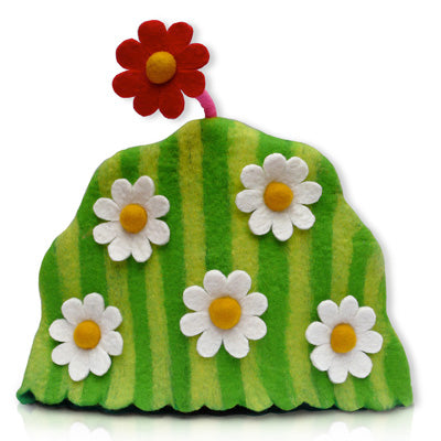 Tea on the Lawn Felting Tea Cosy Kit