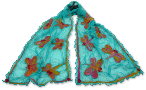 Diaphanous Damsel Nuno Scarf Feltmaking Kit