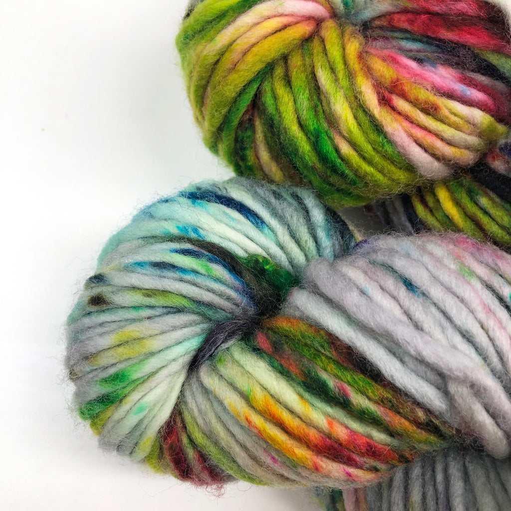 Gilliangladrag Holy Fluff Hand Dyed Super Chunky : 'The Hills Are Alive with the Sound of Music'