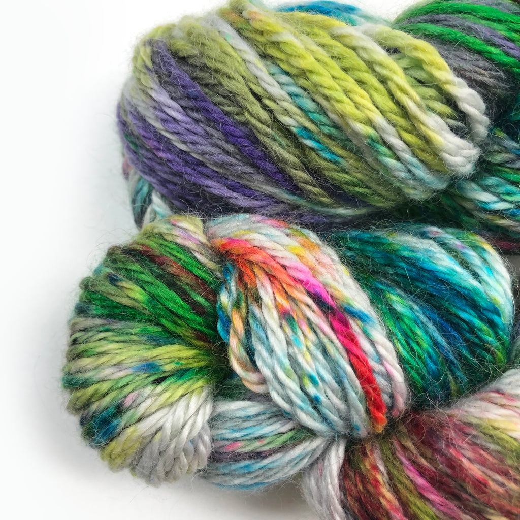 Gilliangladrag Holy Fluff Hand Dyed Alpaca : The Hills Are Alive with the Sound of Music
