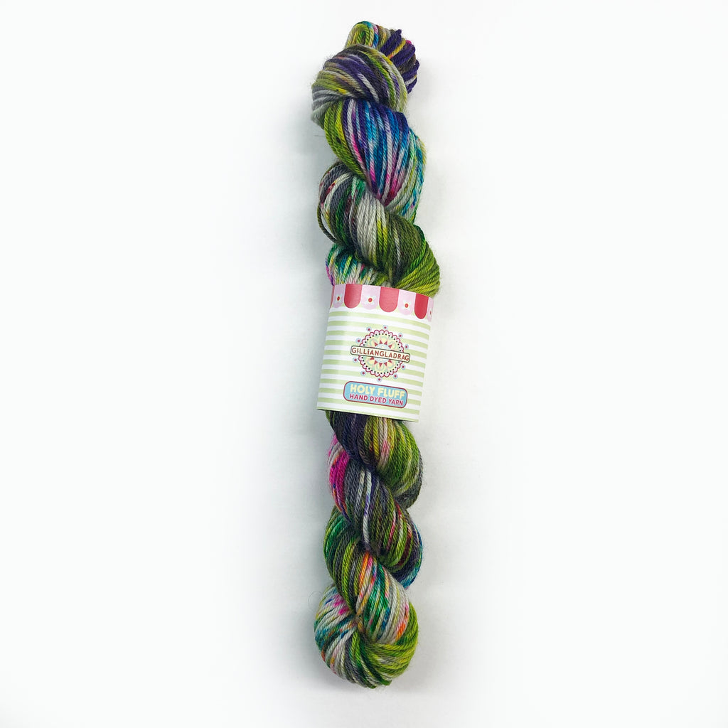 Gilliangladrag Holy Fluff Hand Dyed Sock Mini : The Hills Are Alive with the Sound of Music