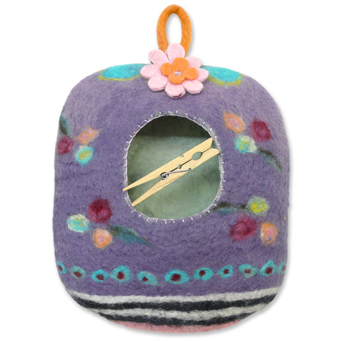 Vintage Laundry (SML) Peg Bag Wet Felting Kit