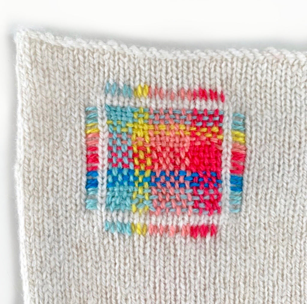 Visible Mending :Introduction to Darning Workshop : 26/09 10.30-1pm