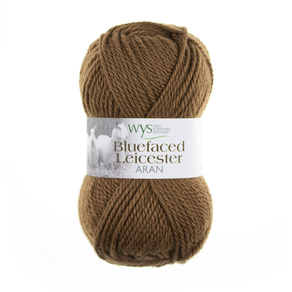 WYS Blue Faced Leicester Aran 50g Mocha 662
