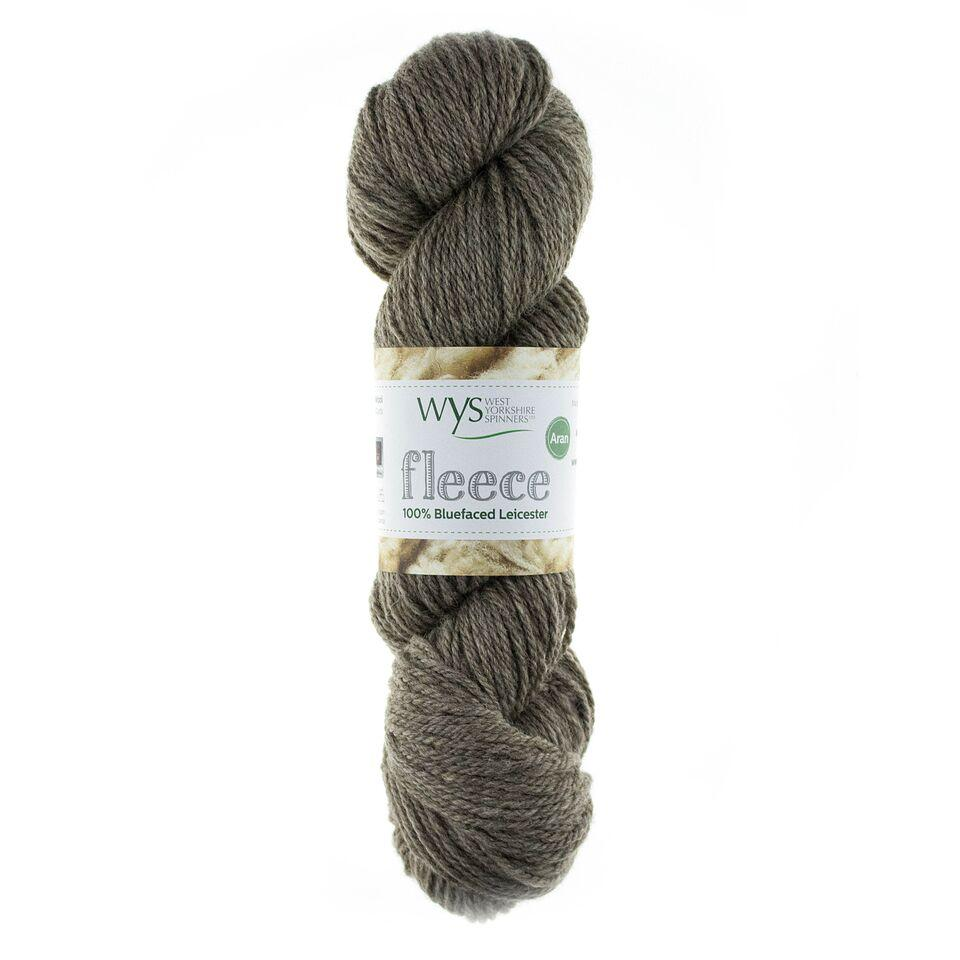 WYS Blue Faced Leicester Fleece Aran 100g Light Brown 002