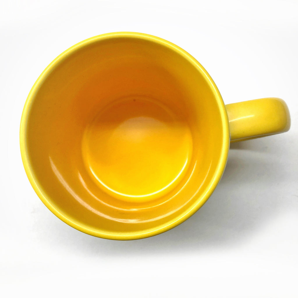 "Gilliangladrag Mug ""Total Mother Fluffer"" Yellow"